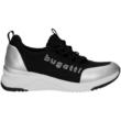 Bugatti-női-fekete-ezüst-fűzős-cipő-431-A2L60-5054