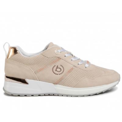 Bugatti-női-arany-bézs-utcai-cipő-411-77203