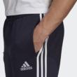 Adidas férfi sötétkék színű pamut melegítőnadrág-GK8888