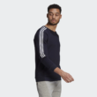 Adidas férfi kék színú pamut pulóver-GK9582