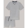 Schiesser férfi tencel pizsama-174867