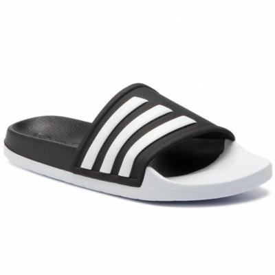 Adidas-fekete-fehér-uniszex-strandpapucs-F35437